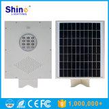 réverbère 12W solaire Integrated avec la fonction de détecteur, toute dans une usine solaire de réverbère