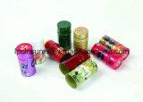 サランまたは錫はさみ金が付いているワインの包むか、またはアルミニウムワインのシールのためのアルミニウムカプセル