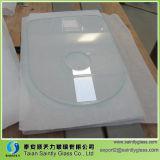 el panel inferior del vidrio Tempered del hierro de la dimensión de una variable del Special de 3.2m m con la impresión blanca