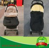 Echter natürlicher Schaffell-Baby-Schlafsack im Winter