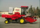 水田のコンバイン収穫機のための農業の収穫機械
