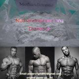 Polvo esteroide Dianabol Methandrostenolone Metandienone CAS de la pureza elevada: 72-63-9
