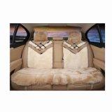 Conjunto auto de la cubierta de asiento de la alta calidad de la piel de la piel lujosa de las ovejas