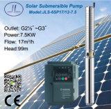 pompa autoalimentata solare centrifuga di CA del pozzo profondo di 6in
