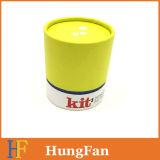Kundenspezifisches Gefäß-zylinderförmiger verpackengeschenk-Papierkasten/Geschenk-Kasten