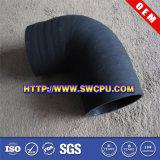 Silicone flexível preto fole de borracha moldado personalizado