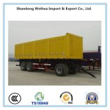 전문가 50 톤은 Fuwa 4개의 차축을%s 가진 Drawba 가득 차있는 트레일러를 디자인했다