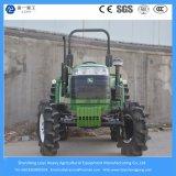 Landwirtschaftliche 55HP 4WD 8f+2rgear Landwirtschaft/Garten/kompakter Traktor von China (40/48/55/70/125/135/140/155/185/200HP)