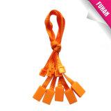 Fábrica Desde Tag Garment plástico com corda