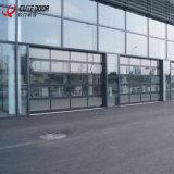 現代自動熱い販売のガレージのパネルのガラス産業ドア