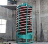 採鉱設備または鉱山の石炭、鉱石のための採鉱設備の重力の集中機械ネジ・シュートは、低価格の製造業ラインを銅張りにする