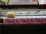 Impressora do grande formato com a máquina de impressão da tinta do Sublimation