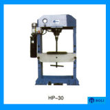 Prensa hidráulica de la puerta del acero inoxidable de la serie del HP, prensa hidráulica de la embutición profunda