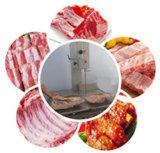 Мясо ленточнопильного станка шутит над замерли косточкой, котор автоматом для резки рыб