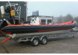 Aqualand 30feet 9m Rib Patrol BoatかMilitary Rigid Inflatable Boat (RIB900B)