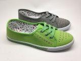 熱い販売の女性の加硫させた偶然のズック靴(14hy1606)