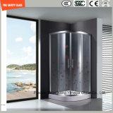 호텔과 홈에 있는 문 Windows 또는 샤워 문을%s 4-19mm 실크스크린 Print/No 지문 산성 식각 또는 서리로 덥은 또는 패턴 편평하거나 굽은 안전 부드럽게 했거나 단단하게 한 유리