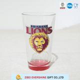 le métal transparent des lions 16oz étiquette les articles en verre pour le cadeau