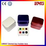 Коробка блока автоклава держателя Burs коробки 30 отверстий алюминиевая стерилизуя