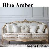 Serie Azul Ámbar sofá clásico de muebles para el hogar (BA-1103-C)
