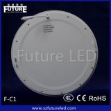 diodo emissor de luz Panel Light de 6W Future Branded Round com CE RoHS Approval