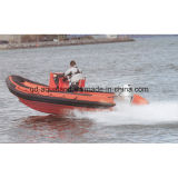 Aqualand 19feet 5.8m Rigid Inflatable Military Boat/Rib Patrol Boat (RIB580T)