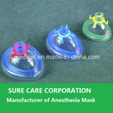 Wegwerfbares Medical PVC Anesthesia Mask mit Check Valve (CER-ISO)