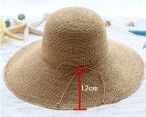 Chapeau de base de Sun de papier de paille de mode