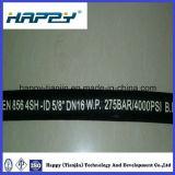 Tuyau en caoutchouc hydraulique à haute pression d'En856 4sh