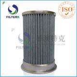 Filtro em caixa da poeira dos transportes do vácuo de Piab da recolocação de Filterk