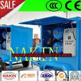 Máquina de filtración de la purificación del petróleo del transformador del vacío para el petróleo que recicla proceso