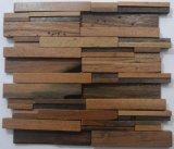 Surtidor de madera del mosaico