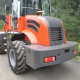2tons Construction Machinery Front Loader avec EU3-Approved Engine