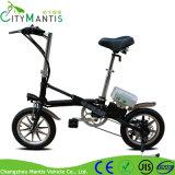 14 Zoll Ebike für Erwachsen-kleine faltbare elektrische Fahrräder faltend