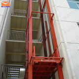 油圧倉庫の使用の倉庫のエレベーターの上昇