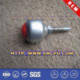 Porta e rodízio plástico usado indicador das rodas do nylon (SWCPU-P-P089)