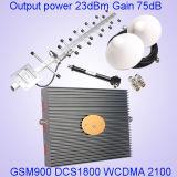 De tri Spanningsverhoger van het Signaal van de Telefoon van de Cel van de Band 900/1800/2100MHz