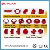 Zustimmung der knötenförmiges Eisen-Grooved flexiblen Kupplung-(323.9) FM/UL