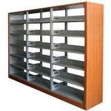 Estante de libro de acero para el estante para libros de la biblioteca