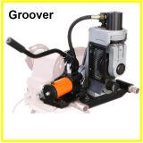1500W de hydraulische Machine van Groover van het Broodje met de Schakelaar van de Voet