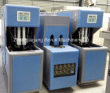 Máquina de sopro do estiramento Semi automático que faz o frasco plástico do suco