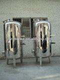 Filtro a sacco industriale dell'acqua dell'acciaio inossidabile per il trattamento delle acque