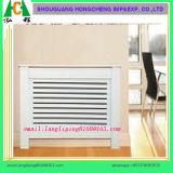 De witte het Schilderen Dekking van de Verwarmer van de Radiator voor Britse Markt, MDF de Dekking van de Radiator