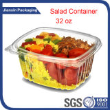Contenitore di alimento di plastica degli articoli per la tavola a gettare con il coperchio