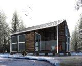 Casas modulares caseras prefabricadas de la construcción fácil del bajo costo de China (XGZ-0090)