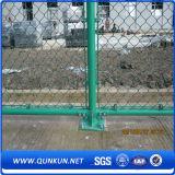 Verwendeter Kettenlink-Zaun im guten Preis