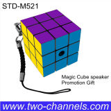 Altavoz mágico del cubo M521, rectángulo de 3.5 mini de la estereofonia del milímetro sonidos del MP3, mini cubo Subwoofers
