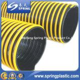 Tuyau d'aspiration de PVC/boyau en plastique flexibles colorés boyau de l'eau/pompe aspirante