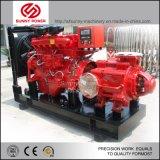 Pompa ad acqua diesel per la lotta antincendio o l'irrigazione con il rimorchio