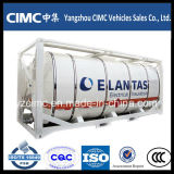 iso Tank Container di 20ft 40ft Liquid Gas Storage